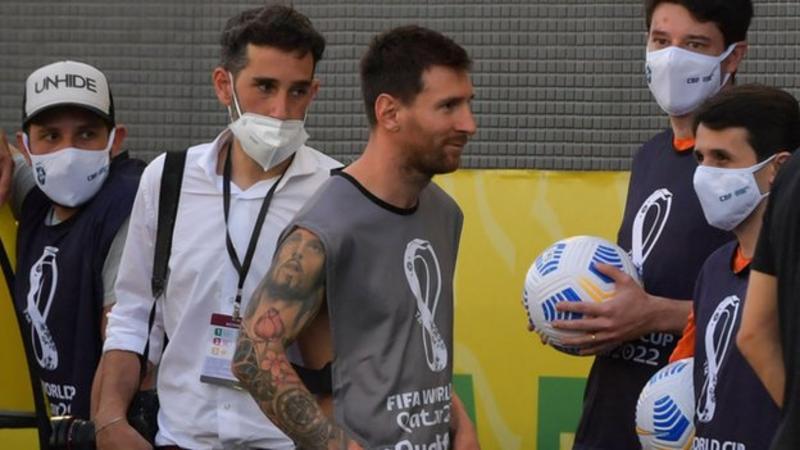 Brasil v Argentina melanggar Covid